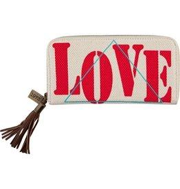 Billabong Billabong Zip It Love Wallet