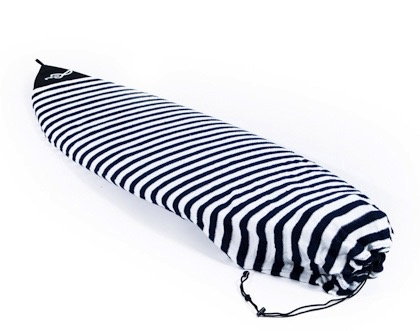 "FCS FCS Stretch Fish/Funboard Navy Stripe Cover Sock 6'3"""