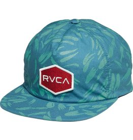 RVCA RVCA Reservation Non-Structured Snapback Hat Blue