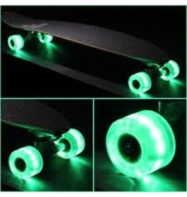 Sunset Skateboard Co. Sunset Green 59mm/78a Cruiser Wheel Set w/ ABEC-9 Bearings