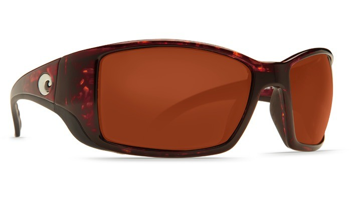 COSTA Costa Blackfin Tortoise Copper 580P Sunglasses