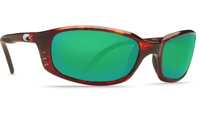 COSTA Costa Brine Tortoise Green Mirror 580G Sunglasses