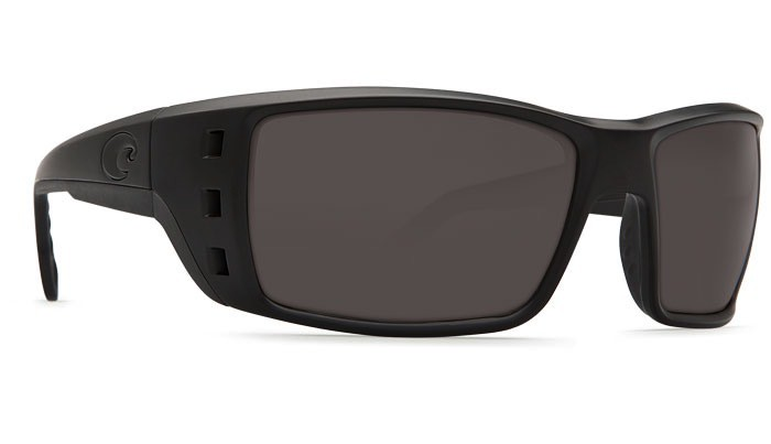 COSTA Costa Del Mar Permit Blackout Gray 580P Sunglasses