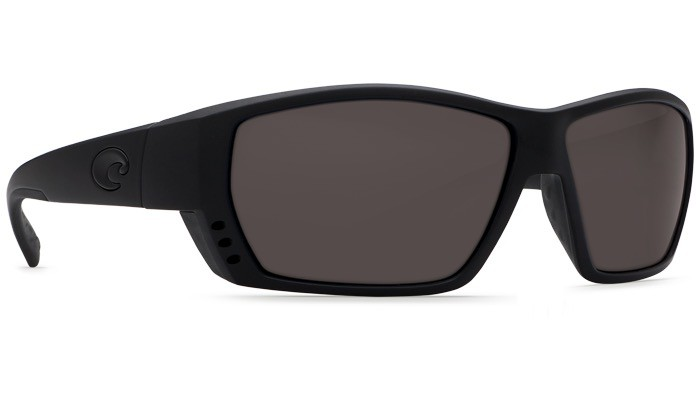 COSTA Costa Tuna Blackout Gray 580P Sunglasses