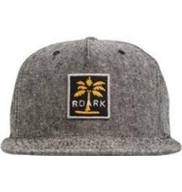 Roark Roark Revival African Palm Snapback Charcoal Hat