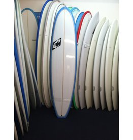 WRV WRV Funboard 7'2 x 21.25 x 2.85 47.83L Futures Fins Thruster Surfboard