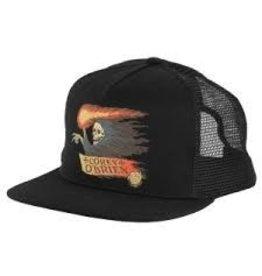 Skate Santa Cruz Vintage Obrien Reaper Trucker Mesh Hat Black