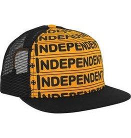 Skate Independent Axle Bar Trucker Mesh Hat Gold/Black