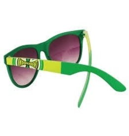 Skate Independent DONS Square Sunglasses Dark/Light Green