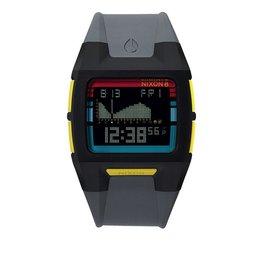 Nixon Nixon Lodown II Black Gray Pop Stripe Watch Mens