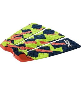 Dakine Dakine Lien Pad Citron Orange Navy Surfboard Traction Pad