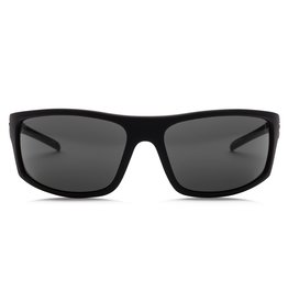Electric Visual Electric Tech One Matte Black Melanin Grey Polarized Level I Sunglasses