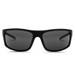 Electric Visual Electric Tech One Gloss Black Melanin Grey Sunglasses
