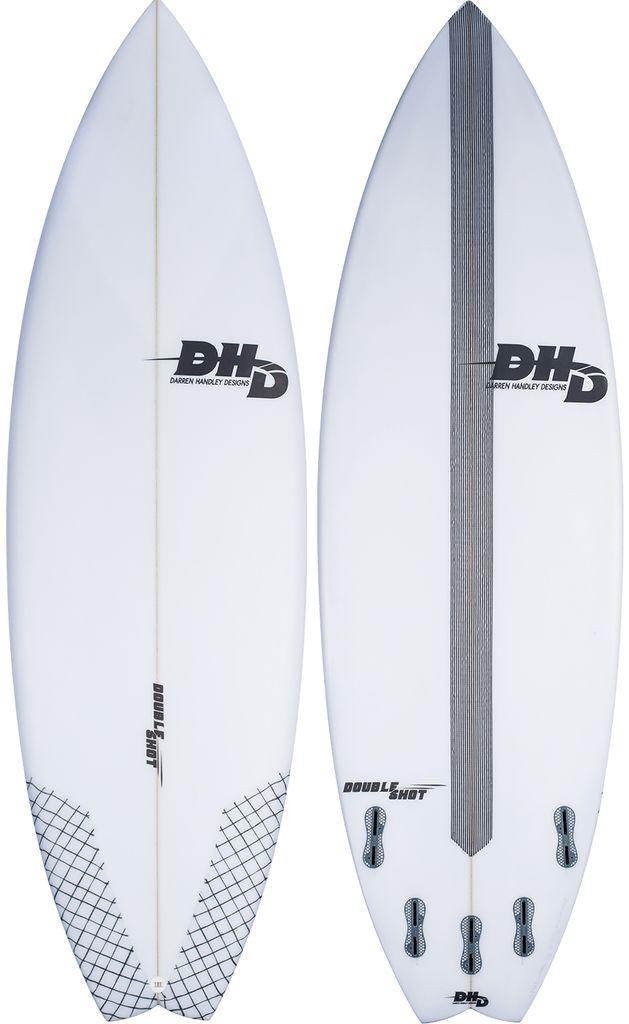 DHD DHD 5'8 Double Shot Short Board Surfboard