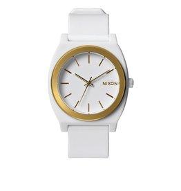 Nixon Nixon Time Teller P White / Gold Ano Watch