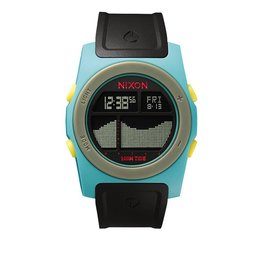 Nixon Nixon Rhythm Seafoam / Black / Yellow Watch