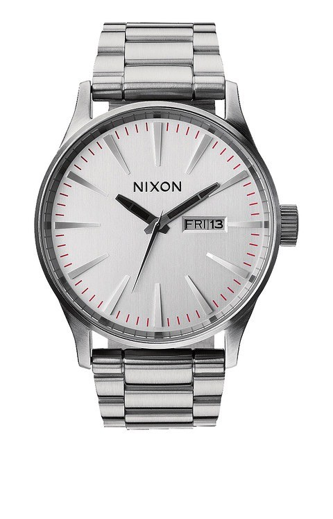 Nixon Nixon Sentry SS Silver Watch