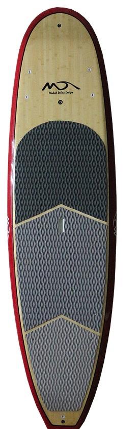 Dolsey Dolsey 10'0 PCG Red SUP Carbon Fiber Rail