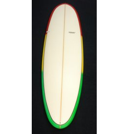 Starr Surfboards Starr 7'0 x 22 1/2 x 2 3/4 Funshape Rasta Color