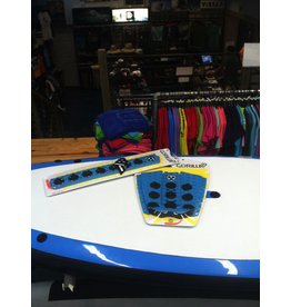 Gorilla Gorilla Boomhower Skimboard Tail Pad & Arch Combo Blue