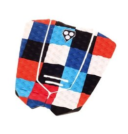 Gorilla Kai Colour Squares Tail Pad Surfboard Traction Pad