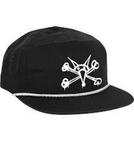 Skate Bones BW Nylon Yacht Club Snap Back Hat