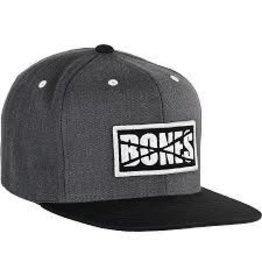 Skate Bones BW Denim Factory Snap Back Hat