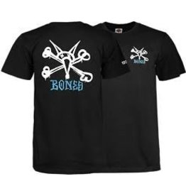 Skate Powell Peralta Rat Bones Youth T-Shirt L Black
