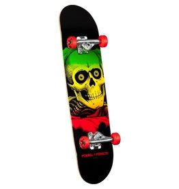 Skate Powell Peralta Ripper Complete Skateboard Red - 7.75 x 31.75