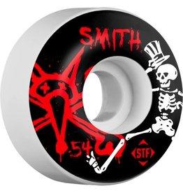 Bones Wheels Bones Wheels STF Pro Smith Social 54mm Wheels 4pk Skateboard Wheels
