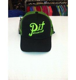 Pit Gear Pit Surf Shop Hat Trucker Green