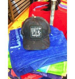 Pit Gear Pit Surf Shop Hat Black Camo