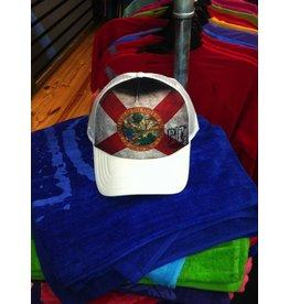 Pit Gear Pit Surf Shop Hat Florida Native White