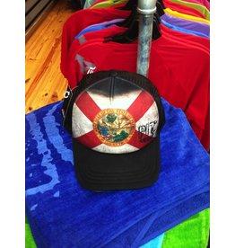 Pit Gear Pit Surf Shop Hat Florida Native Black
