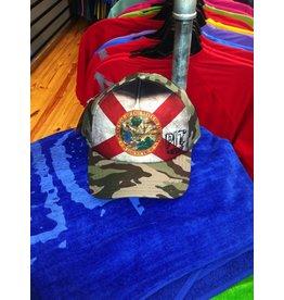 Pit Gear Pit Surf Shop Hat Florida Native Camo