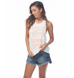 Rip Curl Rip Curl The Skinny Muscle Tee White Small