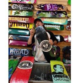 Skate Underground UG Seal Ol Skool #95 Deck Black/White