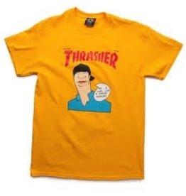 Skate Thrasher Gonz Cover SS T-shirt, Gold, S