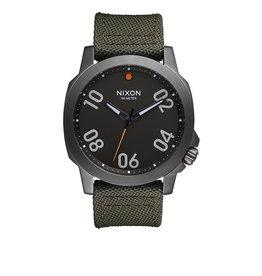 Nixon Nixon Ranger 45 Nylon Gunmetal Surplus Watch
