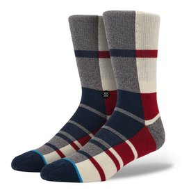 Stance Stance Planet X Socks Red Mens Size L/XL 9-13