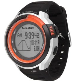 Freestyle Freestyle Mariner Tide Black/Silver/Orange Watch