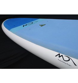 Dolsey Dolsey 10'0 EZ Wider White Teal Pad SUP Board<br /> Dolsey 10'0 EZ Wider White Teal Pad SUP Board