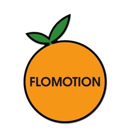 Flomotion Flomotion Big Orange Sticker
