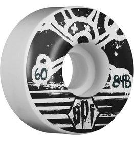 Bones Bones Wheels SPF Blackout 60MM 4 Pack Skateboard Wheels