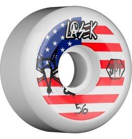 Skate One Bones Lasek USA 56mm Wheel Set SPF