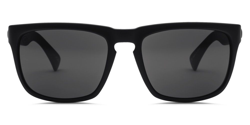 Electric Visual Electric Knoxville Matte Black Frame Melanin Grey Lens Sunglasses