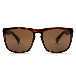 Electric Visual Electric Knoxville XL Gloss Tort Frame Melanin Bronze Polarized Level 1 Sunglasses