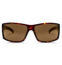 Electric Visual Electric Mudslinger Gloss Tort Frame Melanin Bronze Lens Sunglasses