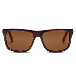 Electric Visual Electric Swingarm Gloss Tort Frame Melanin Bronze Polarized Level 1 Lens Sunglasses