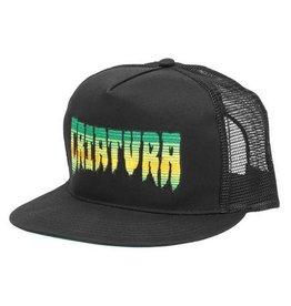 Skate Creature Criatura Trucker Mesh Hat Black Adjustable